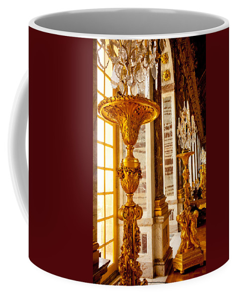 Paris Coffee Mug featuring the photograph Palace Of Versailles by Anthony Doudt