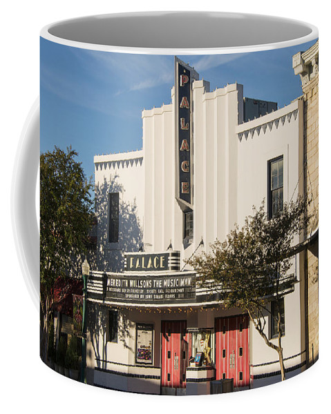Palace Theater Coffee Mug featuring the photograph Palace Theater --- Georgetown Texas by Bob Phillips