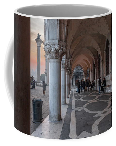 Venice Italy Coffee Mug featuring the photograph Palazzo Ducale. Venezia by Juan Carlos Ferro Duque