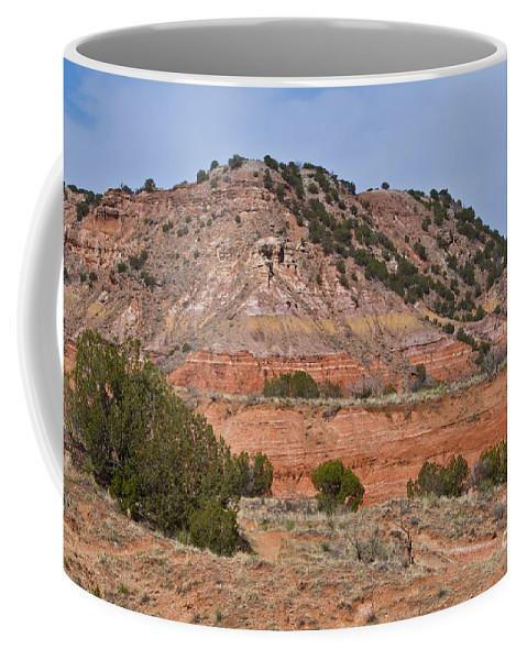 Palo Duro Canyon Coffee Mug featuring the photograph Palo Duro Canyon 040713.02 by Ashley M Conger