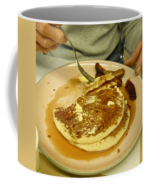 Pancake Coffee Mug featuring the photograph Pancake Breakfast by Kent Lorentzen