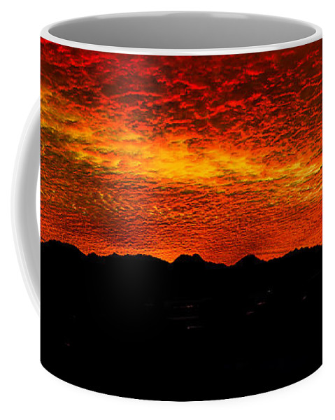 Sunrise Coffee Mug featuring the photograph Panoramic Sunrise by Robert Bales