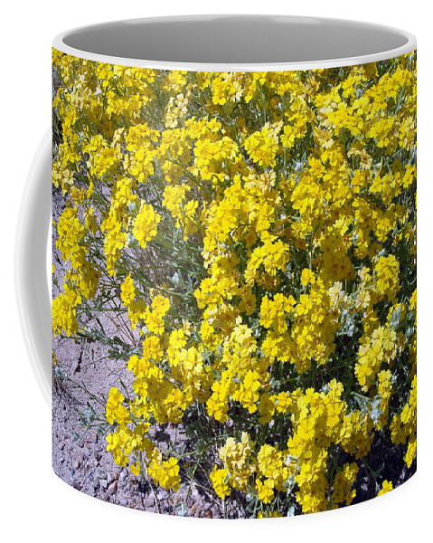 Paperflower Coffee Mug featuring the photograph Paperflower by Susan Woodward