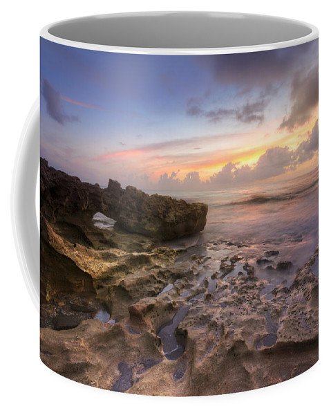 Clouds Coffee Mug featuring the photograph Paradise On Jupiter by Debra and Dave Vanderlaan