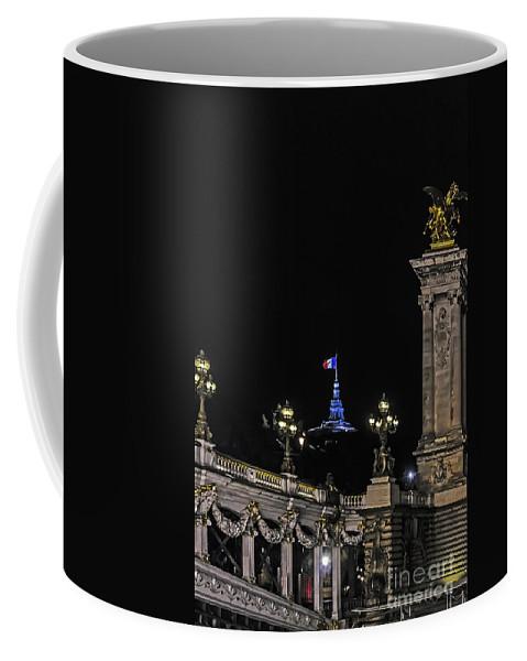 Travel Coffee Mug featuring the photograph Viva La France by Elvis Vaughn