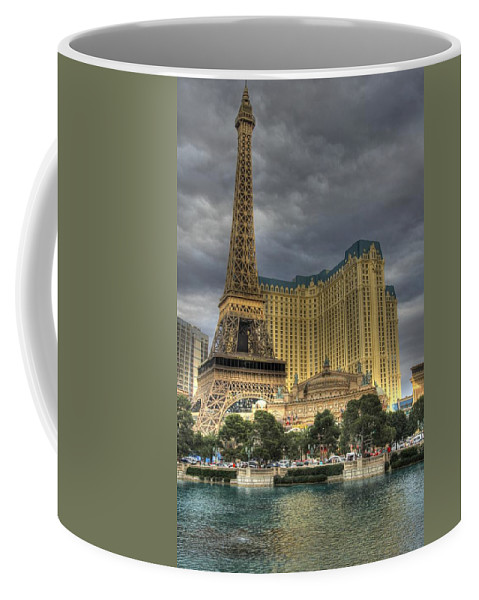 Bellagio Coffee Mug featuring the photograph Paris Lv by Chance Chenoweth