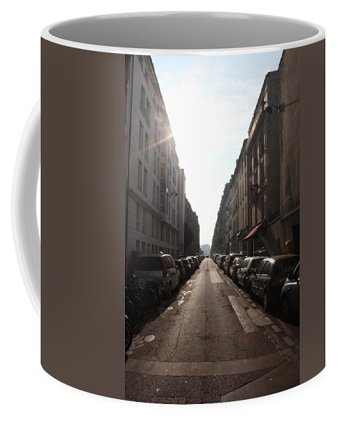 Paris Coffee Mug featuring the photograph Paris Side Street by Nicholas Miller