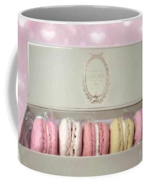 Paris Macarons Laduree Tea Shop Patisserie - Dreamy Laduree Box Of French  Macarons - Paris Macarons Coffee Mug