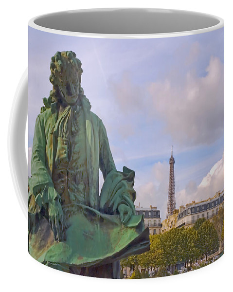 Paris Coffee Mug featuring the photograph Paris View #4 by Mick Burkey