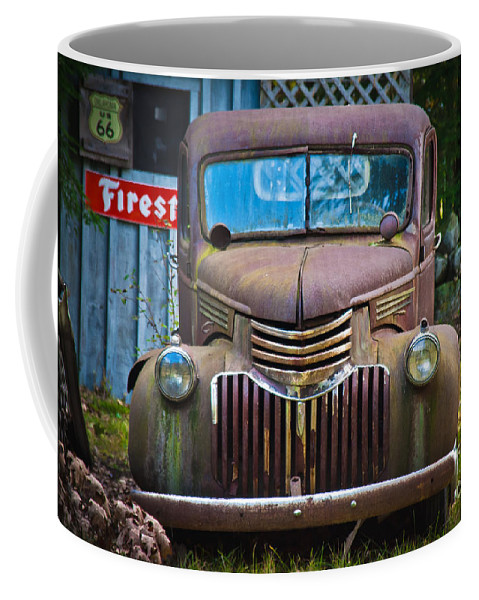 Parked Coffee Mug featuring the photograph Parked by Alana Ranney