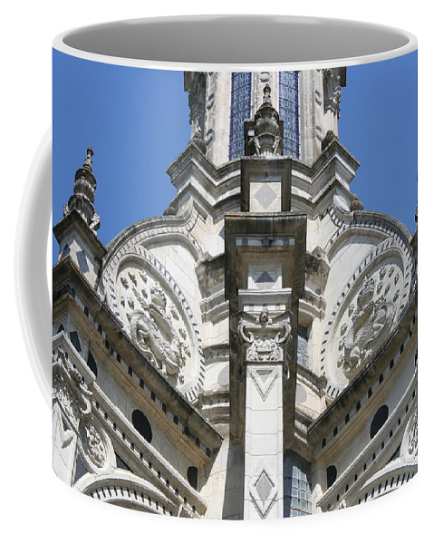 Palace Coffee Mug featuring the photograph Part Of The Crown - Palace Chambord - France by Christiane Schulze Art And Photography