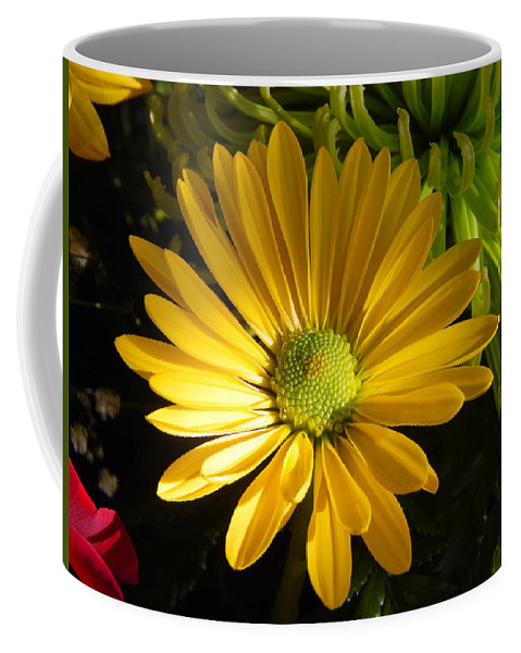 Partly Sunny Coffee Mug featuring the photograph Partly Sunny by Karen Cook