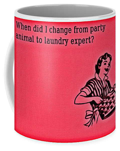 Change Coffee Mug featuring the painting Party Animal by Florian Rodarte