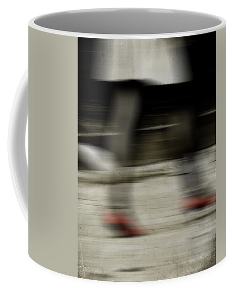 Street Coffee Mug featuring the photograph Pass Me By by The Artist Project