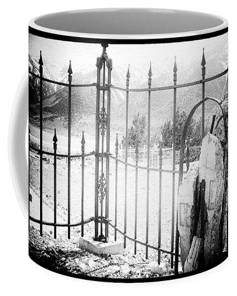 Black Coffee Mug featuring the photograph Past Life by Cat Connor