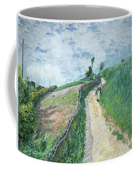 Impressionism Coffee Mug featuring the painting Path Leading To Ville D'avray by Alfred Sisley