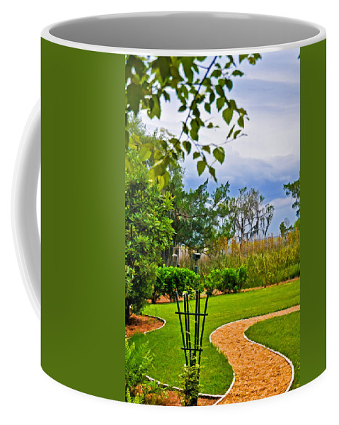 Garden Coffee Mug featuring the photograph Path To Marshes by Ginger Wakem