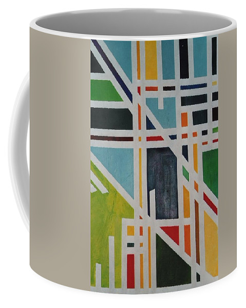 Pathway Coffee Mug featuring the painting Pathway by Lord Frederick Lyle Morris