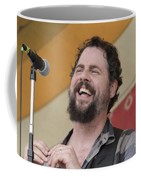 Singer Coffee Mug featuring the photograph Patterson Hood Band by Concert Photos