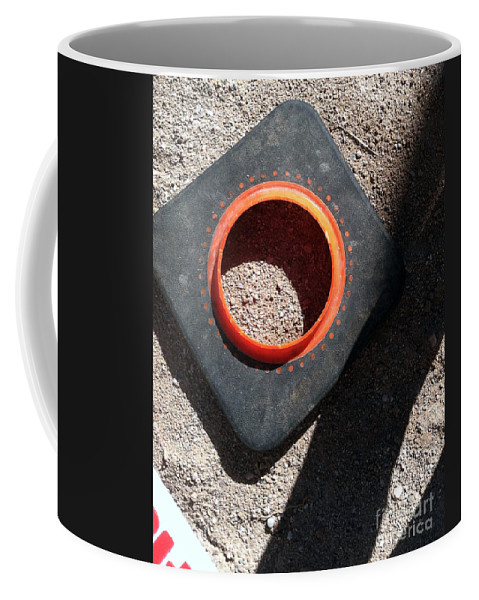 Construction Coffee Mug featuring the photograph Pc 60 by Marlene Burns