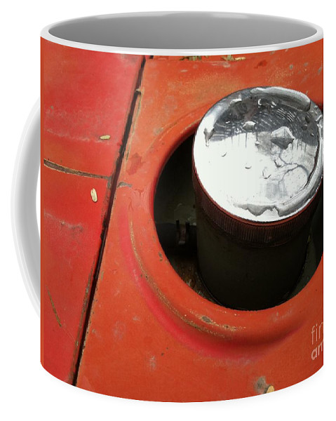 Construction Coffee Mug featuring the photograph Pc 64 by Marlene Burns