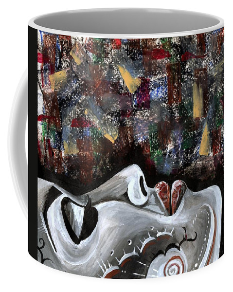 Art Coffee Mug featuring the photograph Peace Amidst Turmoil by Artist RiA