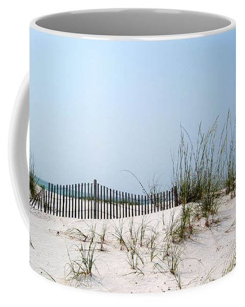National Seashore Coffee Mug featuring the photograph Peace And Tranquility by Megan Cohen