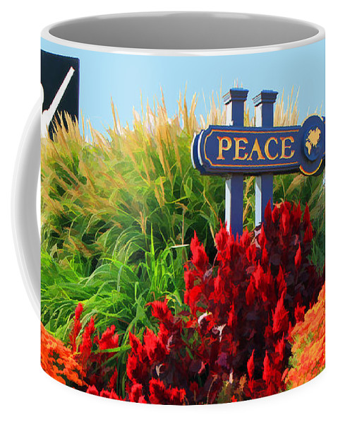 Nature Coffee Mug featuring the photograph Peace by Geoff Crego
