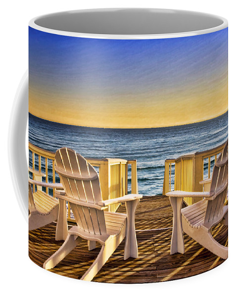 Peaceful Coffee Mug featuring the photograph Peaceful Seclusion by Janet Fikar