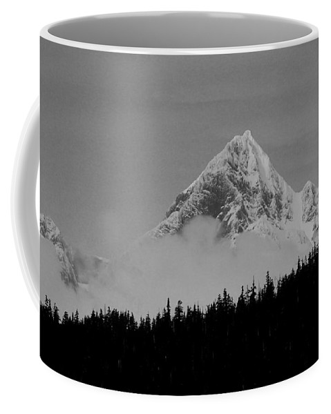Mountain Coffee Mug featuring the photograph Peaking Up by Kevin Buffington