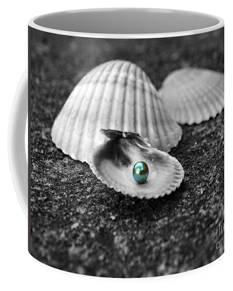Pearl Coffee Mug featuring the photograph Pearls Of Wisdom I by Jai Johnson