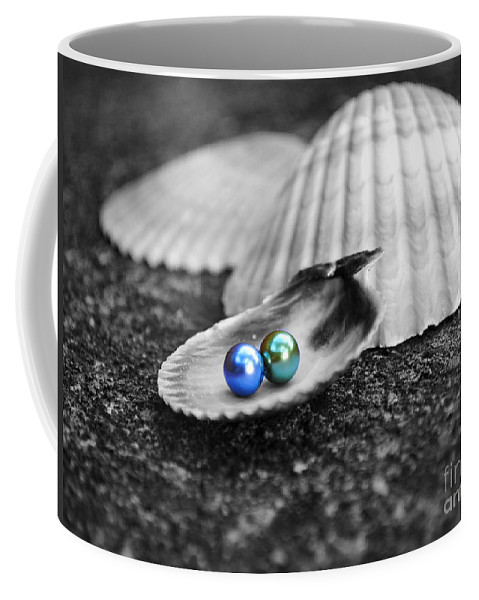 Pearl Coffee Mug featuring the photograph Pearls Of Wisdom IIi by Jai Johnson