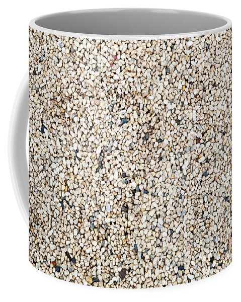 Background Coffee Mug featuring the photograph Pebbles by Tim Hester