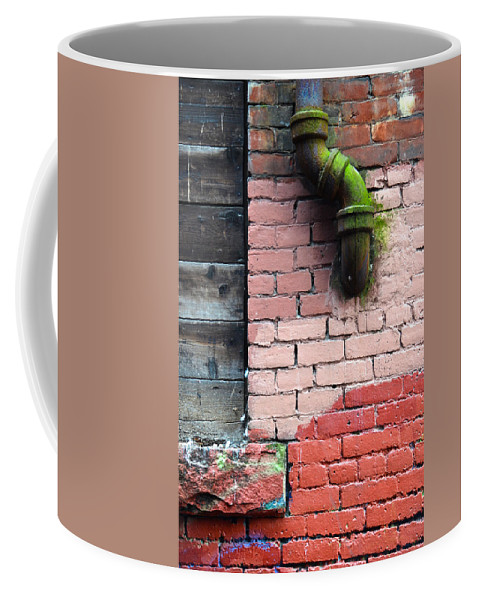 Street Coffee Mug featuring the photograph Peer Street by The Artist Project