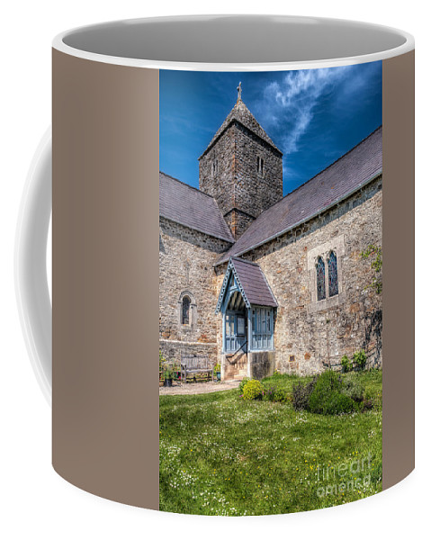 Anglesey Coffee Mug featuring the photograph Penmon Priory by Adrian Evans