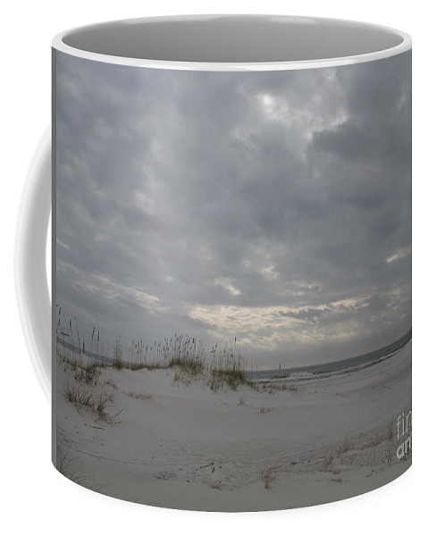Beach Coffee Mug featuring the photograph Pensacola Beach After Storm by Christiane Schulze Art And Photography