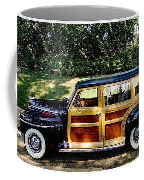 Plymouth Coffee Mug featuring the photograph Perfect Plymouth by John Anderson