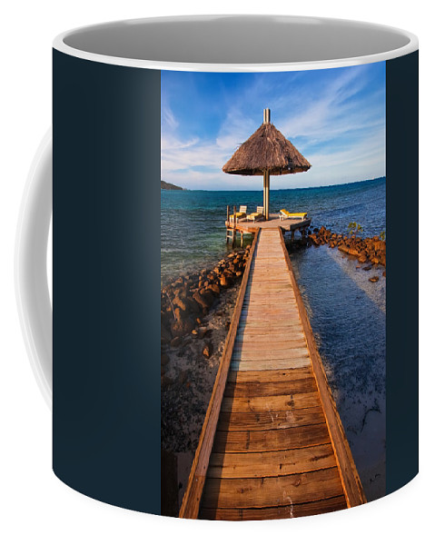 3scape Coffee Mug featuring the photograph Perfect Vacation by Adam Romanowicz
