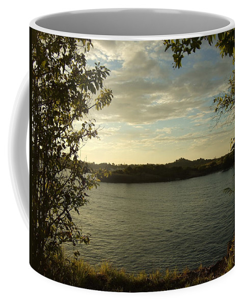 Coffee Mug featuring the photograph Perfect View by Katerina Naumenko