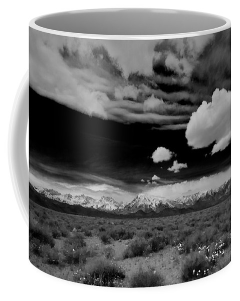 Clouds Coffee Mug featuring the photograph Perspective by Cat Connor