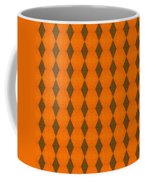 Abstract Coffee Mug featuring the digital art Perspective Compilation 23 by Michelle Calkins