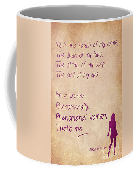 Phenomenal Woman Quotes 60 Coffee Mug For Sale By Nishanth Gopinathan Interesting Phenomenal Woman Quotes