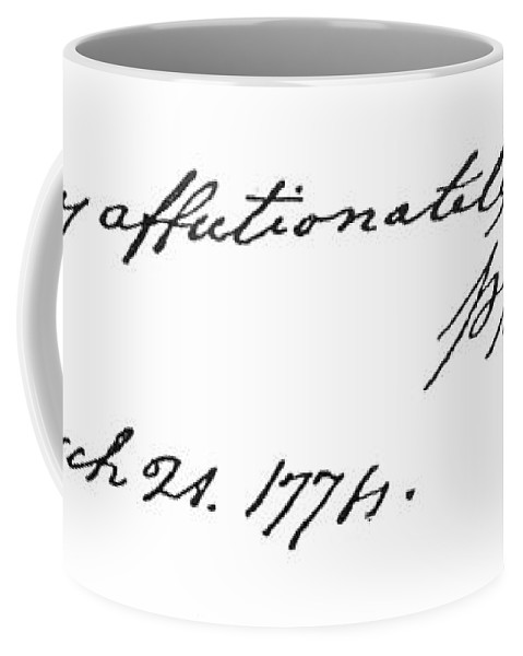 18th Century Coffee Mug featuring the painting Phillis Wheatley (1753?-1784) by Granger