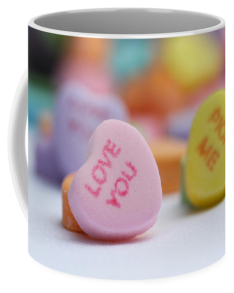 Valentines Day Coffee Mug featuring the photograph Pick Me by Diana Haronis