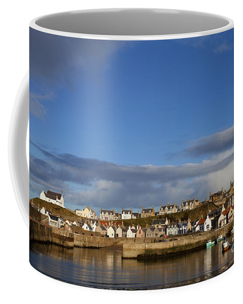 Architecture Coffee Mug featuring the photograph Picturesque Findochty by Diane Macdonald