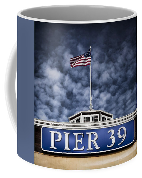 Pier 39 Coffee Mug featuring the photograph Pier 39 by Dave Bowman