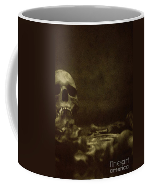 Atmosphere Coffee Mug featuring the photograph Pile Of Bones by Margie Hurwich