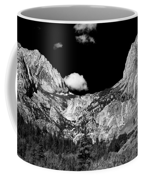 Black Coffee Mug featuring the photograph Pine Creek by Cat Connor