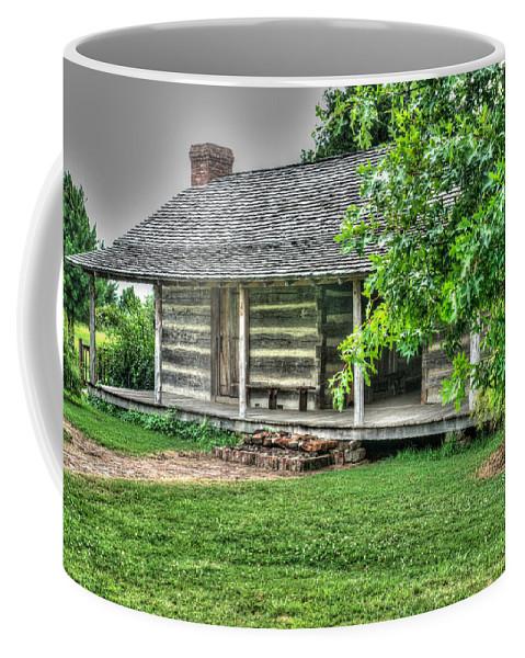 Cabin Coffee Mug featuring the photograph Pioneer Cabin 21 by Douglas Barnett