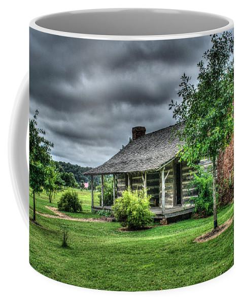 Cabin Coffee Mug featuring the photograph Pioneer Cabin 25 by Douglas Barnett